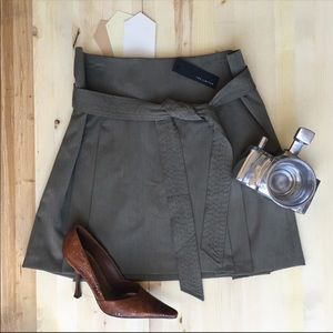 The Limited Olive Mini Skirt NWT